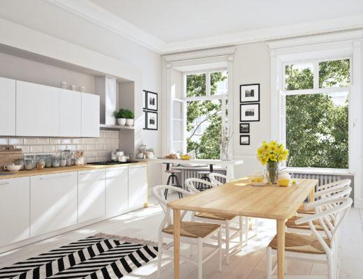 norischer Chic für die Küche, Einrichtungsideen