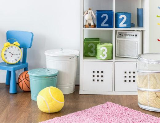 Farbenfrohe Kinderzimmereinrichtung