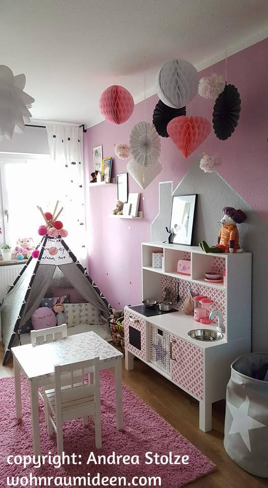 Traumhafte kinderzimmereinrichtung rosa grau wei - Traumhafte kinderzimmer ...