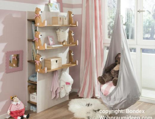 Kinderzimmermöbel selber bauen  Traumhafte Kinderzimmereinrichtung: Rosa, Grau, Weiß