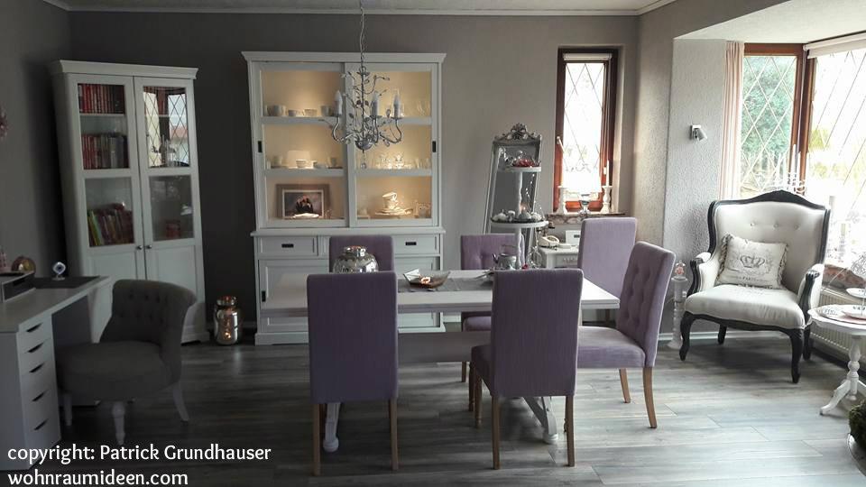 graue w nde mit pastellt nen und viel wei. Black Bedroom Furniture Sets. Home Design Ideas