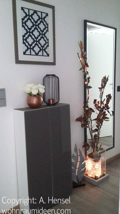 Elegante herbstdekoration - Herbstdeko furs fenster ...