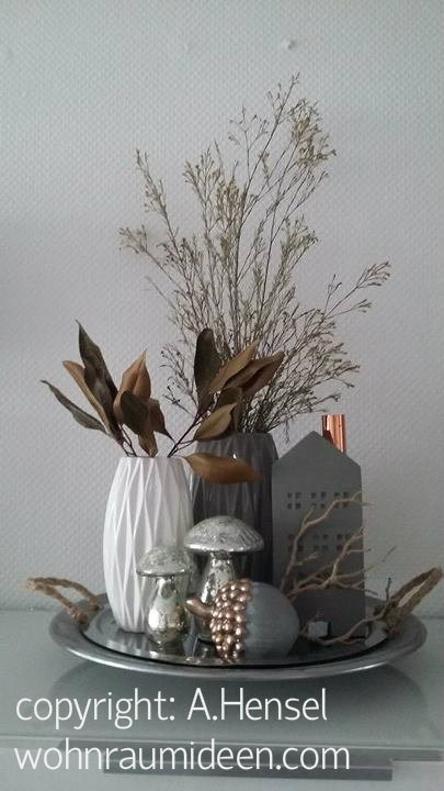 herbstdekoration, elegant