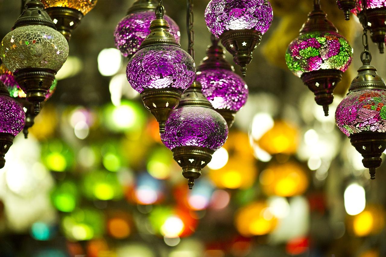 orientalische Lampen, Einrichtungsideen