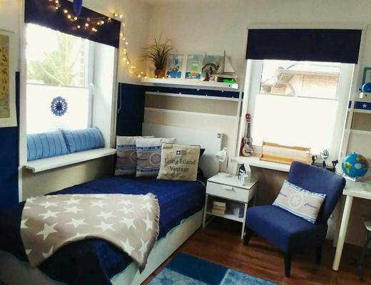 maritime Einrichtung, Jungenzimmer, Kinderzimmer